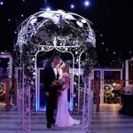 Bride & Groom Under canopy