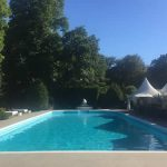 Summers Day Poolside At The KIngs Oak