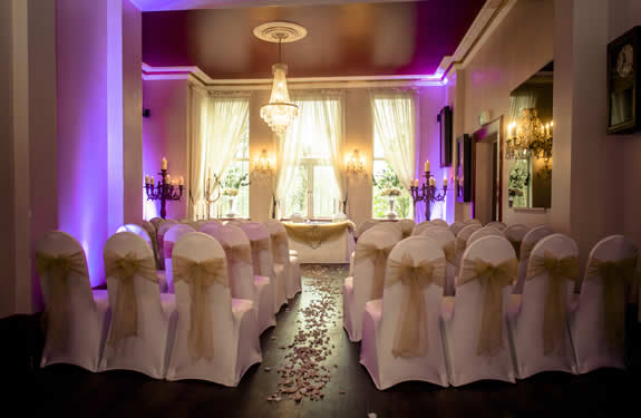 The Brides View Of The Oak Lounge