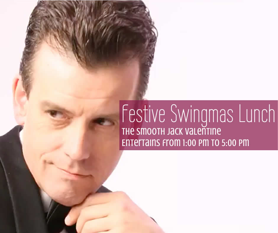Swingmas lunch with the fabulous Jack Valentine