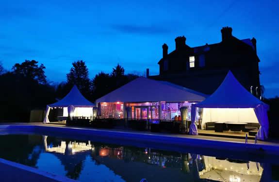 Poolside Venue At The Kings Oak