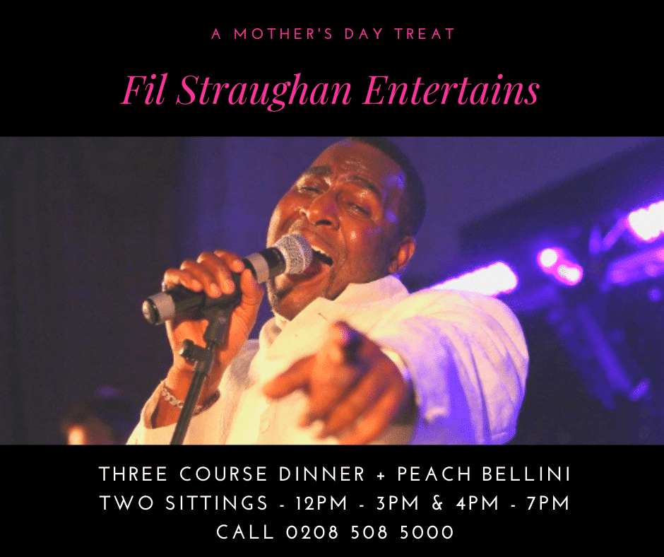 Mothers Day At The Kings Oak With Fil Straughan entertaining