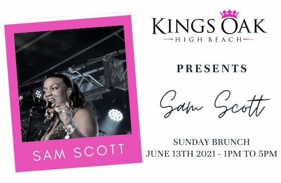 Sam Scott returns to the Kings Oak for Sunday Brunch