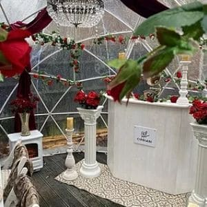 Venetian Pod With Roses